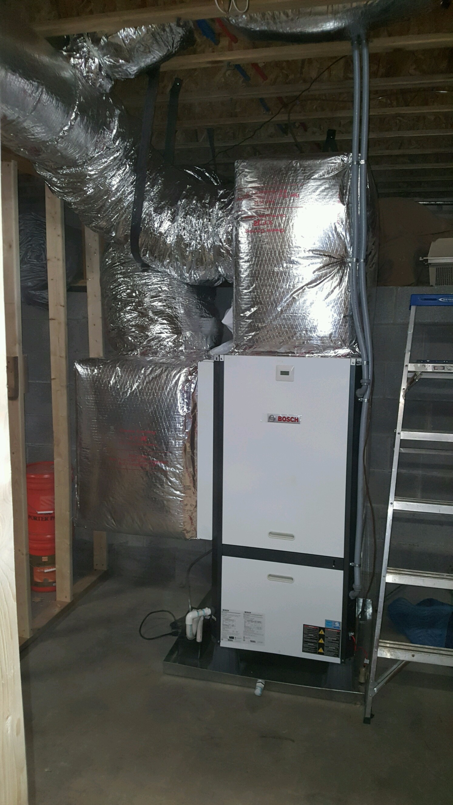 Bosch Geothermal Install – Another Satisfied Home Owner