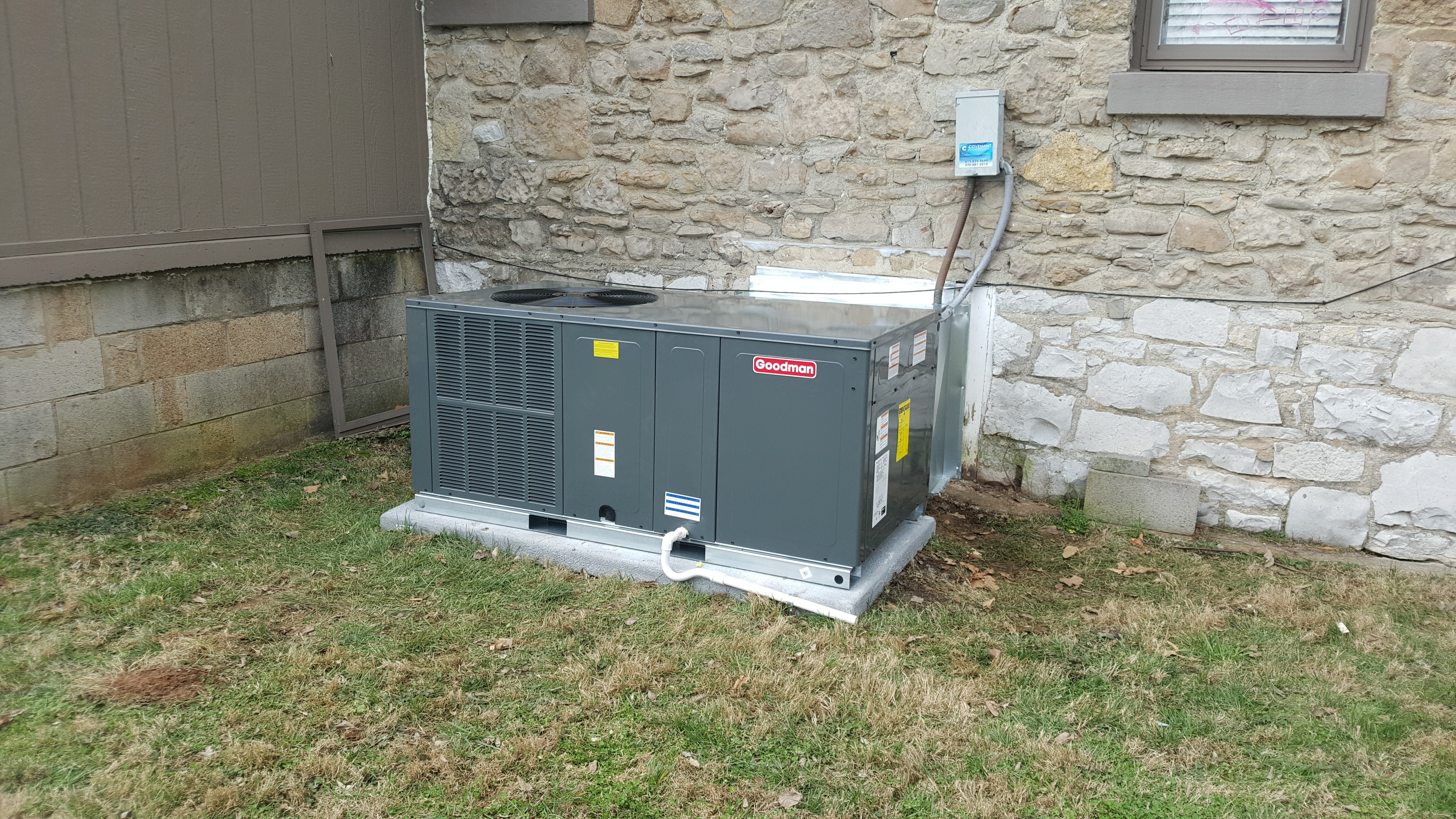 Heat Pump Replacement – Local Business
